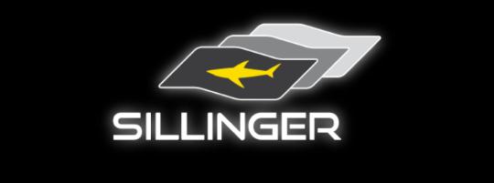 logo sillinger fond noir